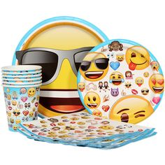 Emoji Express Party Package for 8