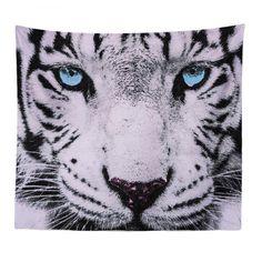 #AdoreWe #Rosewholesale - #Rosewholesale HD Digital Print Animal Portrait Lion Tiger Tapestry Beach Towel Multi Specification - AdoreWe.com