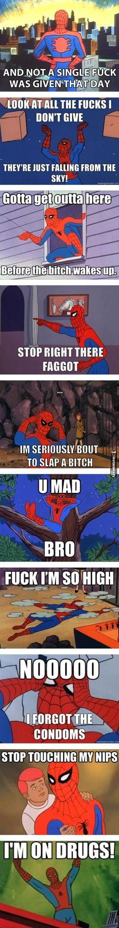 classic spiderman memes