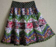 Quilted Clothes, Girls Dresses Sewing, Quilted Skirt, Indian Skirt, Girl Outfits, Fashion Outfits, Recycled Fashion, Cute Skirts, Skirt Fashion