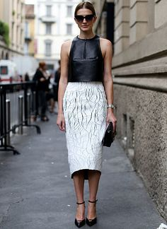 Black and white #streetstyle