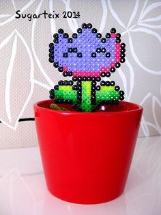 Tulipan morado de Mario Bros para decorar tus macetas. Si te gusta puedes adquirirlo en nuestra tienda on-line: http://www.sugarshop.eu
