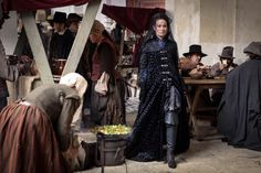 The Musketeers series 2/4. Emilie. BBC Dusan Martinek photographer. The carriage for Perales does not turn up and Milady completes her task for Rochefort. Perales is dead.