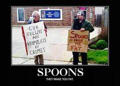 Spoons hehehe hahaha