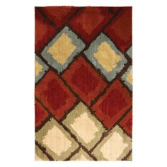 Have to have it. American Craftsman Shaggy Vibes Abercorn Area Rug - $122.99 @hayneedle