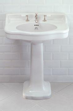 Lefroy Brooks La Chapelle basin and pedestal 72cm LB7701, LB7724 -  inc VAT£509.25