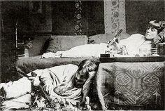 / Opium Smokers, Montmartre, Paris circa 1910