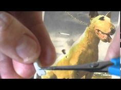 modelagem de cachorro em biscuit parte 9 e 10 - YouTube