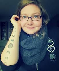 phases of the moon tattoo - Google Search