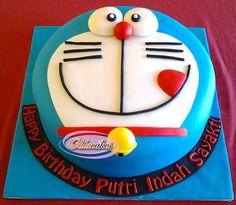 Torta di Doraemon n.24 22nd Birthday Cakes, Birthday Party Themes, Cupcakes, Cupcake Cakes, Doraemon Cake, Cake Designs For Kids, Diy Cake, Cakes For Boys, Cream Cake