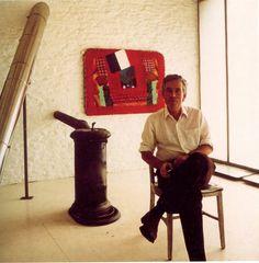Howard Hodgkin's studio