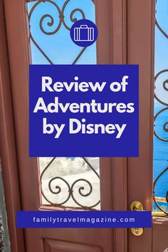 Read our guide and review of Adventures by Disney, a guided tour company from Disney offering trips to destinations throughout North America, South America, Asia, Africa, Australia and Europe, including reviews of our trips to Greece, Italy, London, Paris, and New York City.