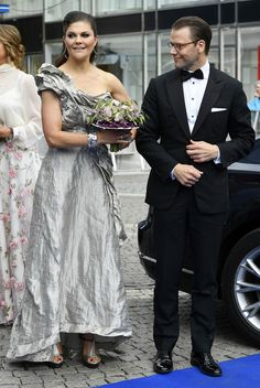 Crown Princess Victoria of Sweden attends an award ceremony for the Polar Music Prize at Konserthuset on June 15, 2017 in Stockholm, Sweden.