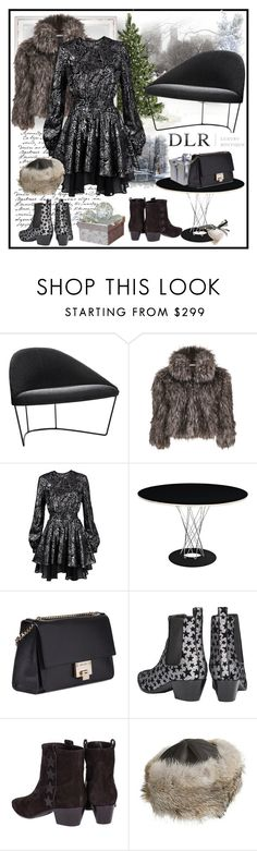 """DLRBOUTIQUE.COM"" by carola-corana ❤ liked on Polyvore featuring Gina Bacconi, Just Cavalli, Jimmy Choo, Yves Saint Laurent, Overland Sheepskin Co. and dlrboutique"