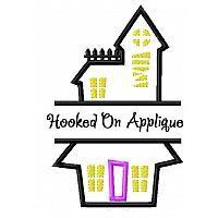 "Haunted House split design ""Welcome"""
