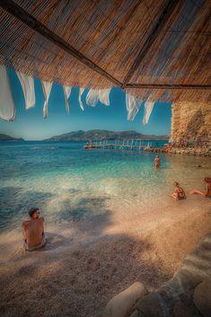 Relaxation - Relaxation in Cameo Island beautiful beach, Zakynthos