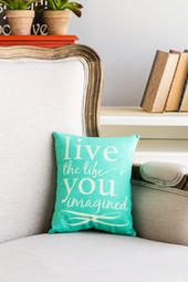 Life You Imagined 8 x 10 Decor Pillow