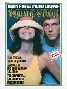 Karen Carpenter and Richard Carpenter on the July 4, 1974 cover talking about life after their band, the Carpenters, sold 25 million gold records. #longreads