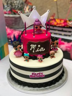 LOL Doll Party Cake