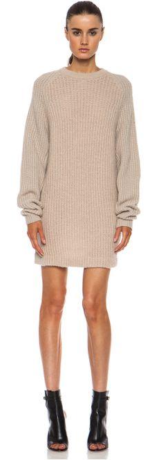 Nude sweater dress found at Nudevotion.com
