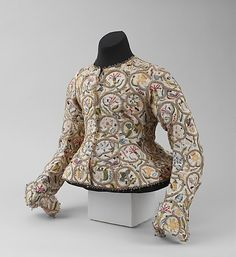 Jacket 1616 British linen metal and silk
