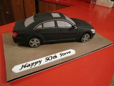 Mercedes S Class Car cake