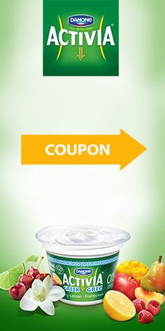 Coupon pour yogourt Activia grec. Fin le 30 septembre.  http://rienquedugratuit.ca/coupons/yogourt-activia-grec/