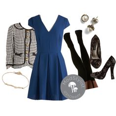 """Featured Speaker Dress"" by modcloth on Polyvore"