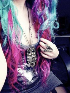 Colorful hair <3
