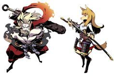 Bushi from Etrian Odyssey IV: Legends of the Titan