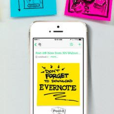 Quick Tip: Capture Inspiration Using Evernote with Your Post-it® Note Camera