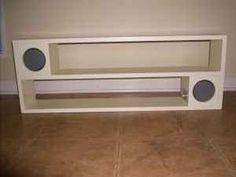 pb teen rockin speaker shelf?