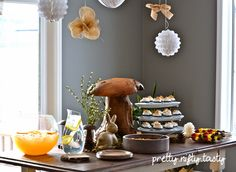 A Forest-Themed Baby Shower