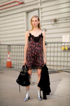 Lina Berg Model off duty street style nyfw NYFW 2016 ss 2016