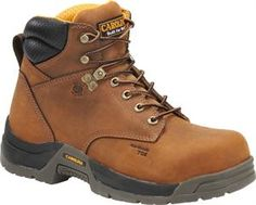 "Men's Carolina 6"" Composite Broad Toe - Copper Crazy Horse"