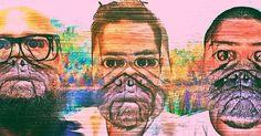 """Arte para """"El pug de AWAP"""" Nota sobre la gente que no agarra la onda de nada en las agencias, en este caso @awap_mx . #digitalart #digitalagencylife #glitch #glitchart #digitalartist"""