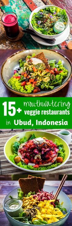 If you are a person who loves organic vegetarian and raw food as we do and you are passing by Ubud in Bali (Indonesia), then this post about vegetarian organic restaurants is going to be a perfect guide for you.