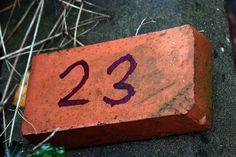 23 on a brick