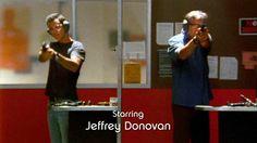 "Starring Jeffrey Donovan, Burn Notice ""Signals and Codes"" Season 3, Episode 5, 2009."