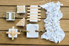 Indigo Shibori Dyeing - Before | by Jeni Baker