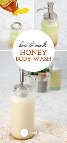 to Make a Natural Body Wash - This is probably the easiest and most customizable body wash recipe I've come across. Get soft, smooth skin with just 4 ingredients!How to Make a Natural Body Wash - This is probably the easiest and most customizable. Diy Body Wash, Homemade Body Wash, Natural Body Wash, Natural Skin Care, Natural Beauty, Natural Hair, Belleza Diy, Tips Belleza, Wie Macht Man