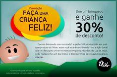 Cliente: Oliver / Proposta: Campanha dia das Crianças 2012 / Desenvolvimento: Igor Alves