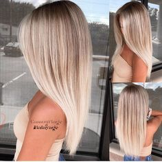Golden Blonde Balayage for Straight Hair - Honey Blonde Hair Inspiration - The Trending Hairstyle Hair Color Balayage, Blonde Color, Blonde Balayage, Hair Highlights, Short Balayage, Honey Balayage, Hair Colour, Blonde Hair Looks, Brown Blonde Hair