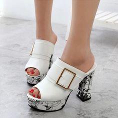 Shoespie Stylish Heel Mules