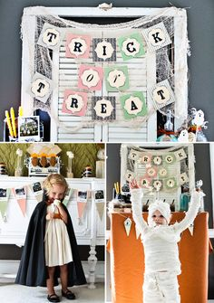 Vintage-Style Haunted Halloween Party // Hostess with the Mostess®