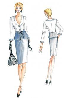 sewing pattern Jackets / Shrugs 2132