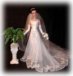 Wedding Gown by Cindy Friesen