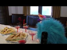 Purim video with Puppets -- need we say more?