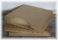"""Hallo meine Lieben !! Diesmal ein Post in eigener Sache. Ich habe mir von einem Bekannten einige Aufbewahrungen für 12"""" Scrapbookingpapiere..."""