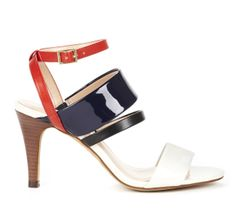 Sole Society Red White Blue - Open toe sandals - Adrie